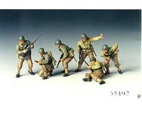 Tamiya - 35192 - U.S. Army Assault Infantry (1:48 Scale)