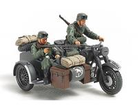Tamiya - 32578 - German Bike & Sidecar (1:48 Scale)
